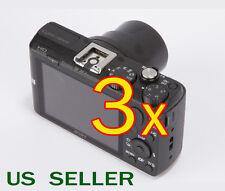 3x Clear LCD Screen Protector Guard Film For Sony CyberShot DSC-HX60 / HX60