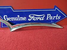 1957 FORD TRIM MOLDING NOS CUSTOM RIGHT REAR DOOR  - (F750)