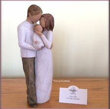 OUR GIFT FAMILY FIGURINE FROM WILLOW TREE® ANGELS FREE U.S. SHIPPING