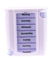 7 Tage Pillendose Pillenbox Pillenturm Tablettenbox Medikamentenbox Wochen Dose