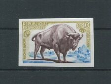 FRANCE BISON WISENT 1974 ESSAY NON DENTELE PROBE UNGEZÄHNT PROOF IMPERF! d9066