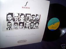 F MACHINE HERE COMES THE 21ST CENTURY 1989 PROMO VINYL LP MINT! RARE!