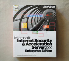Microsoft ISA Server 2000 Enterprise - ausg.MWSt - NEU