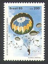Brazil 1985 Parachute/Military Parachuting/Army/Soldiers 1v (n38095)