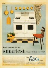 postcard vintage style Look to GAS for the Smartest ranges stove money can buy