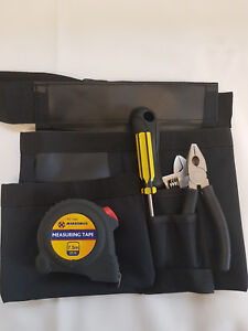 NewProfessional Large Nail Tool Pouch Belt 6 Pockets Hammer 4 All Ages 18''-48''