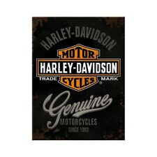 Harley Davidson Magnet Genuine Logo Souvenir Kühlschrank Fridge 8cm