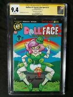 DOLLFACE ST. PATRICK DAY SPECIAL #1 ECCC 2017 EDITION CGC SS 9.4 SIGNED SEATON