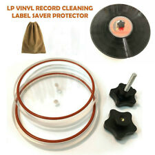 Label Saver Record Cleaning Protector LP Vinyl Album Cleaner Clamp Kit