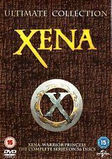 XENA WARRIOR PRINCESS COMPLETE SERIES SEASONS 1,2,3,4,5,6 BOXSET 36 DISCS R4
