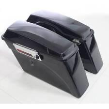 Painted Hard Saddlebags W/Hardware Set For Harley Touring Street Glide 94-13 12