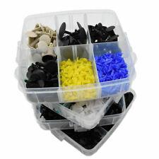 620 Pcs Car Retainer Plastic Auto Fasteners Push Trim Clips Pin Rivet Bumper Kit
