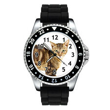 Sokoke Forest Cat Breed Unisex Mens Ladies Jelly Silicone Band Wrist Watch Se301
