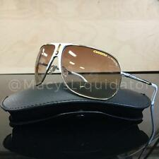 Carrera Back 80's-5 Sunglasses Shiny Gold White VFQID Authentic 66MM