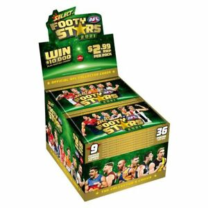 2021 Select Footy Stars FACTORY SEALED BOX FREE POSTAGE