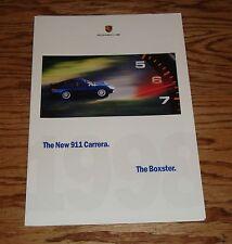 Original 1998 Porsche 911 Carrera & Boxster Large Poster Sales Brochure 98