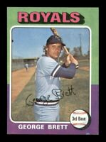 1975 Topps Set Break # 228 George Brett NM *OBGcards*