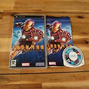 Iron Man (PSP, Marvel 2008) Game Complete With Manual Good Condition PlayStation