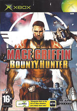 MACE GRIFFIN BOUNTY HUNTER for Xbox - with box & manual - PAL