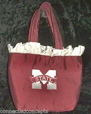 "Mississippi State University Bulldogs ""Rhonda"" Silk Purse from LaShea NEW!"