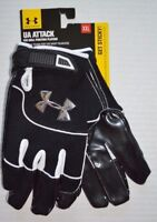 Men's Under Armour UA Attack Football Gloves with Grabtack