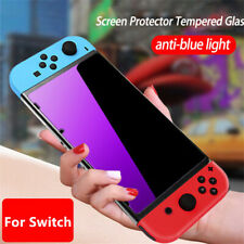 For Nintendo Switch Accessories Anti-Blue Light Tempered Glass Screen Protector