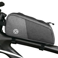 Oxford Cloth Bicycle Frame Front Top Tube Bag Bike Cycling Pannier Pack Pouch