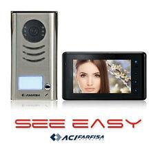 """C6b-wired video PHONE Porta Campanello INTERFONI 7"""" COLORI TFT LCD Schermo"""