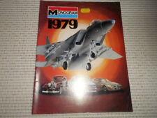 Vintage MONOGRAM Models Catalogue 1979. Planes, Cars, Ships, Space, Die Cast etc