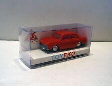 SIMCA 1000 ROJO RED 1/87 TOYEKO TOY EKO