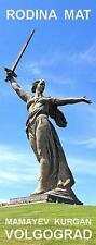 PANORAMA FRIDGE MAGNET of RODINA MAT STATUE MAMAYEV KURGAN VOLGOGRAD RUSSIA