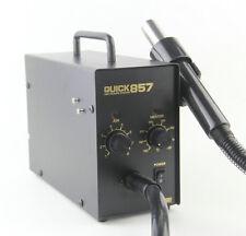 New QUICK 857 anti-electrostatic hot air rework station /SMD hot air gun