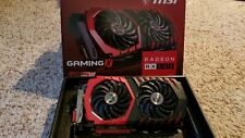 MSI Radeon AMD RX 580 4Gb Gaming X 4G Graphics Card GPU