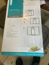 StyleSelections #0639164 3-Light Chandelier