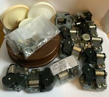 Music Box Parts/Pieces Lot Mechanisms Musical Movements Sanyo Bases Wind up