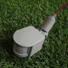 Outdoor 110-220V Infrared PIR Motion Sensor Detector Wall Light Switch 180°