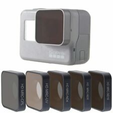 Filter Go Pro Hero 5 6 7 Lens Accessories Uv Cpl Nd 4 8 16 Neutral Density New