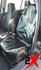 2+1 frontal imitación cuero fundas para asientos negra para Iveco hyundai kia Mazda Mitsubishi