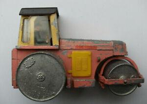 Dinky Meccano Die Cast Model 279 Aveling Barford Diesel Roller Pink (Ref D118)