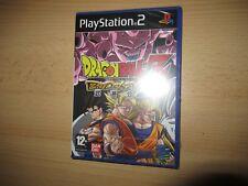 PS2 Dragon Ball Z: Budokai 2 , Pal Reino Unido, Nuevo y Sellado de Fábrica