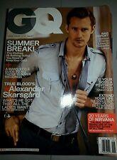 GQ Magazine June 2011 Alexander Skarsgard Men's Interest Monthly English