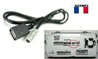 Cable auxiliaire aux adaptateur mp3 USB pour MAZDA SUBARU TOYOTA de france