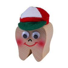 """KERSA 42000 Tooth Box """" Fairy Lucy """" in Shape Wood NEW! #"""