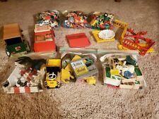 Vintage Playmobil lot, Figures, Accessories, Playground, Horse Trailer, Car etc