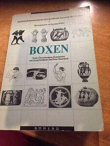 Boxen - Texte, Übersetzungen, Kommentar. Quellendokumentation zur Gymnastik und