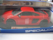 1:18 SCALE MAISTO AUDI R8 V10 PLUS DIECAST RED