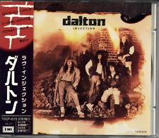 DALTON Injection JAPAN CD 1990 Long OOP! TOCP6178 W/Obi TOSHIBA EMI MEGA RARE!