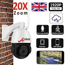 Wireless PTZ HD 1920P Security Camera 20x ZOOM Outdoor CCTV WIFI IP Audio IR 64G