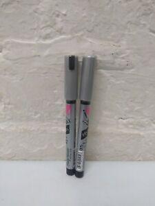 2 Sally Hansen I Heart Nail Art Pen Fine Tip - SILVER