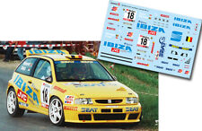 C217 Decal 1:43 Marc Duez - SEAT IBIZA KIT CAR - Ypres Westhoek Rally 1998